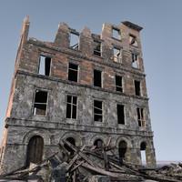 WW2 Ruin 010