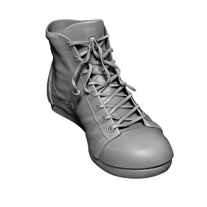 free 3ds mode zbrush sneakers