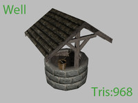 historic well 3d ma