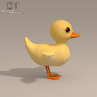Duck cartoon character