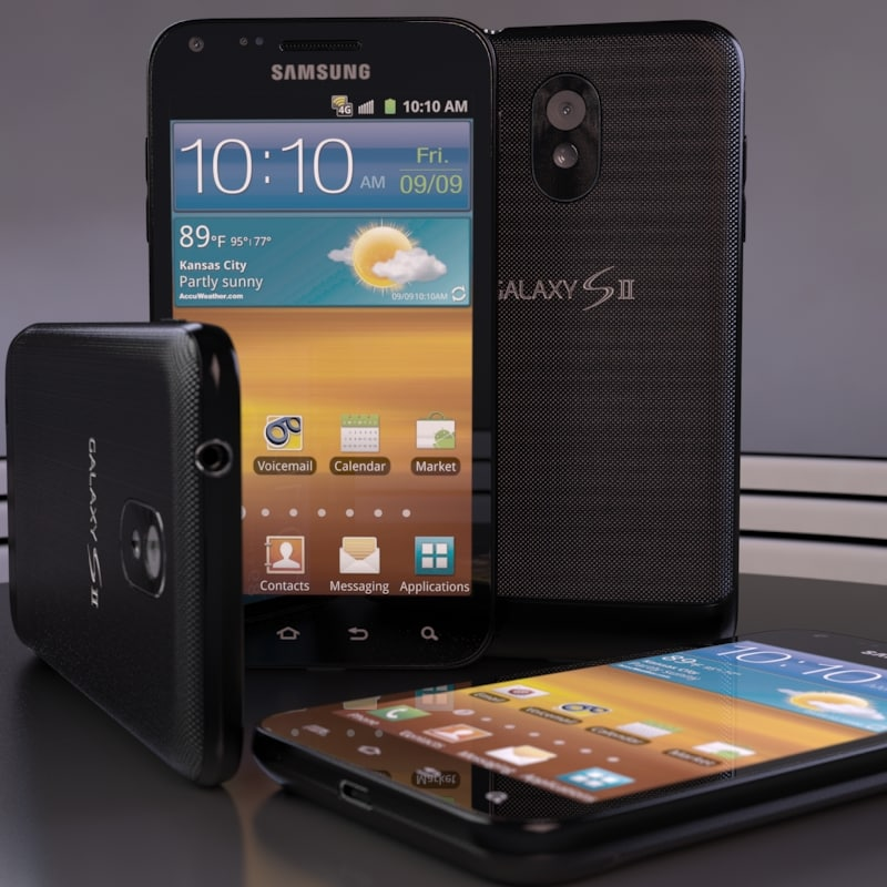 3d model samsung epic 4g touch