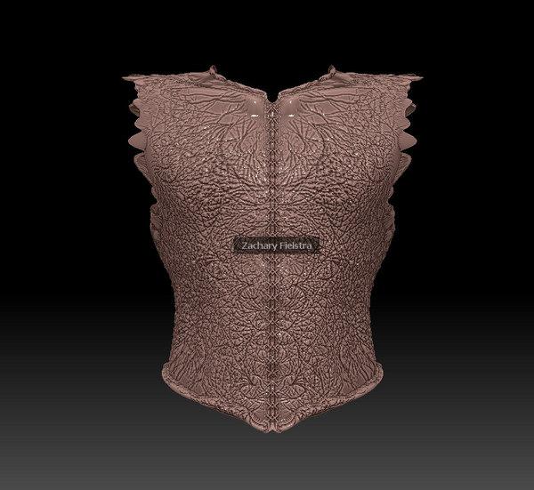 3ds dragon vest