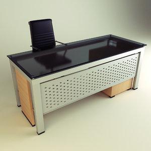 office chair desk 3d max