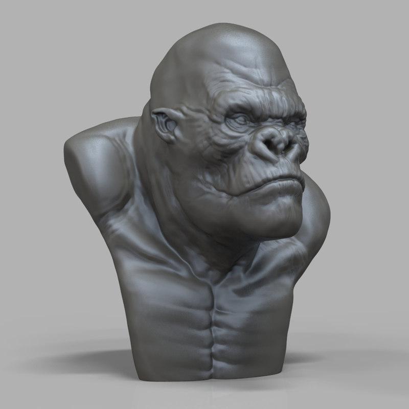 King Kong 3D Models and Textures  TurboSquidcom