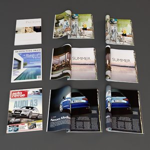 magazine pages max