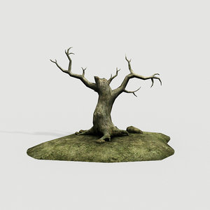 old tree 3d 3ds
