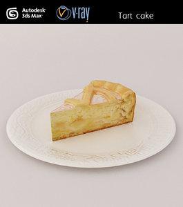 cake tart 3d