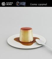 creme caramel 3d max