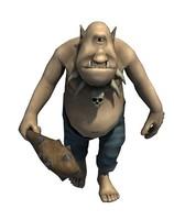 3d model character polyphemus
