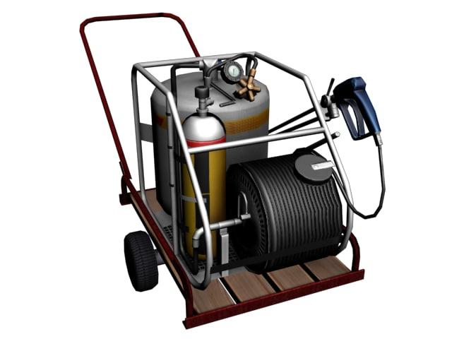 vehicle gas 3d 3ds