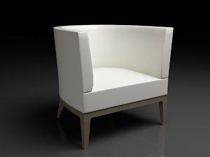 3d chair charlotte