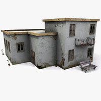 3d games house model