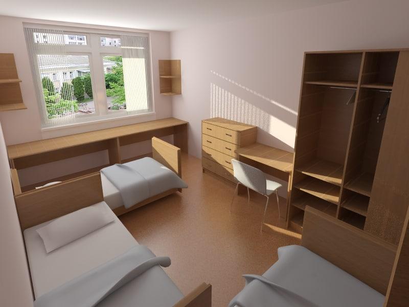 max interior hotel room furniture