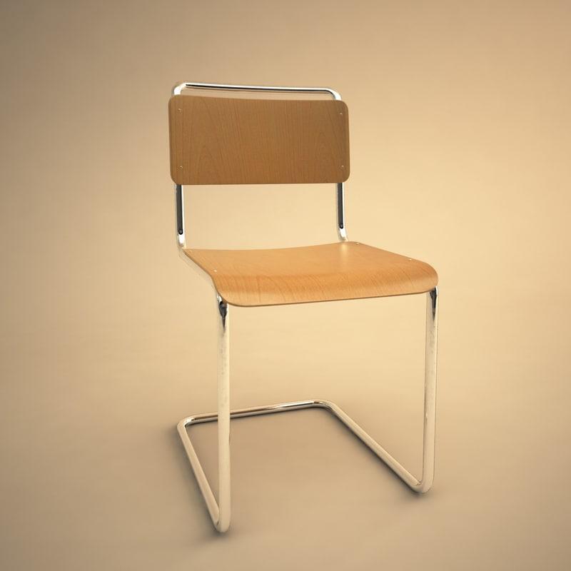 101 chair 3d model