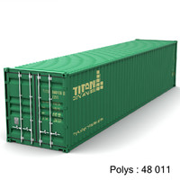 3ds max shipping container