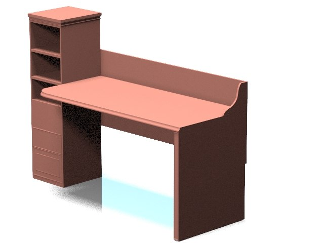 laptop table 3d max
