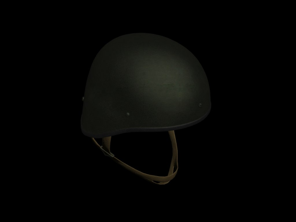 russian airborne helmet 3d model