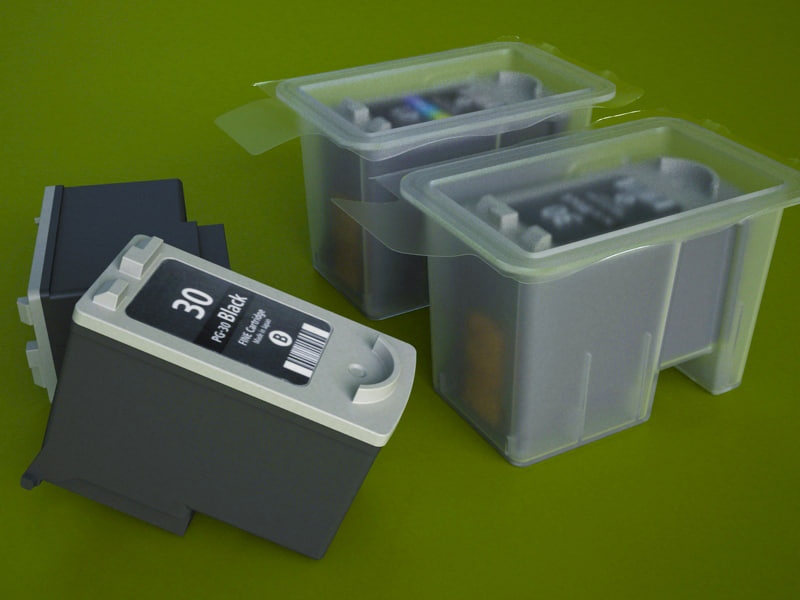 3d model canon pg-30s ink cartridge