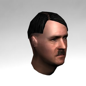 3d adolf hitler model