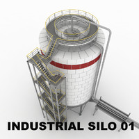 Industrial silo 01