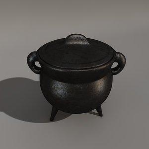 c4d iron pot