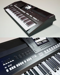 3ds max synthesizer yamaha psr a-2000