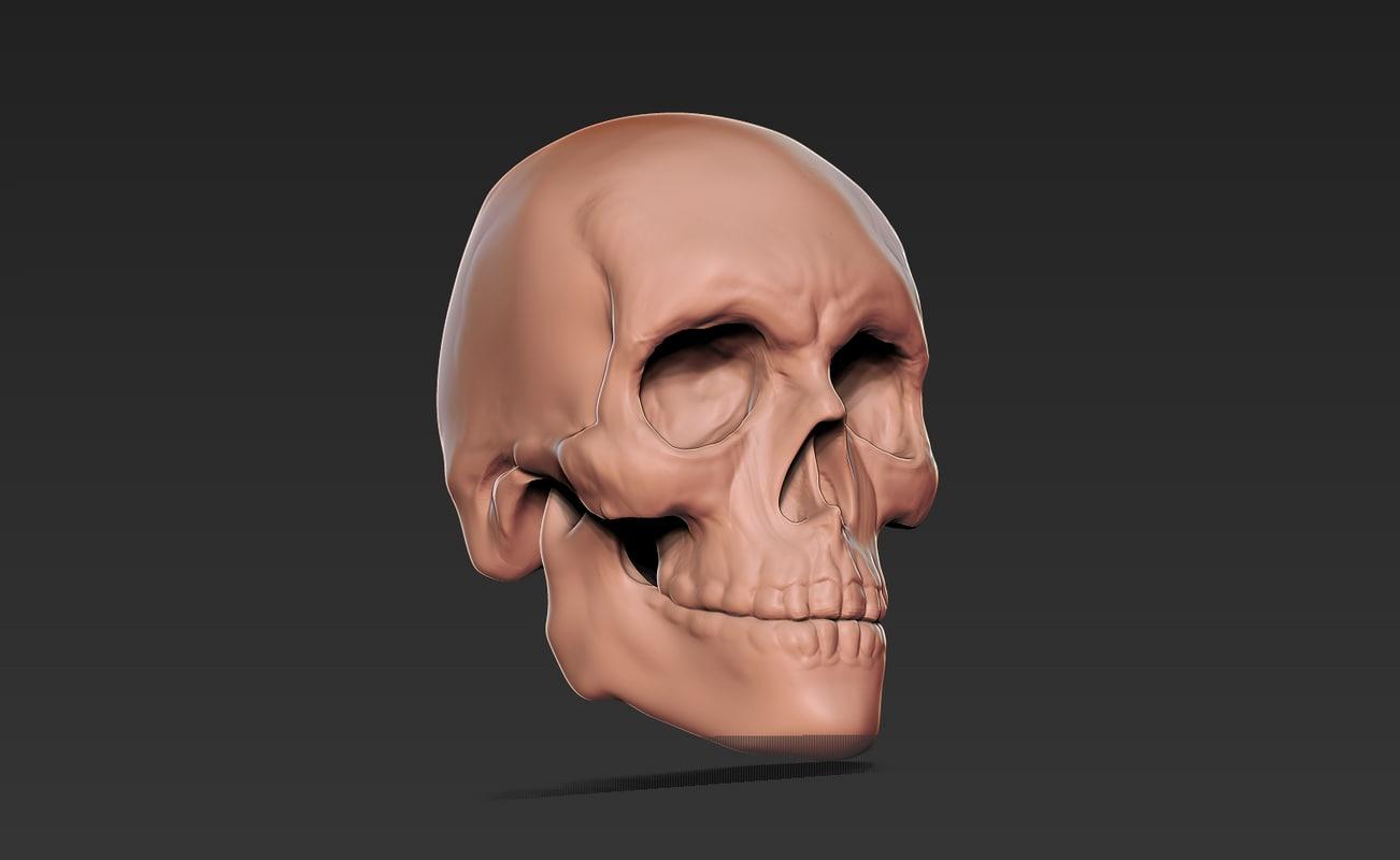 free 3ds mode skull