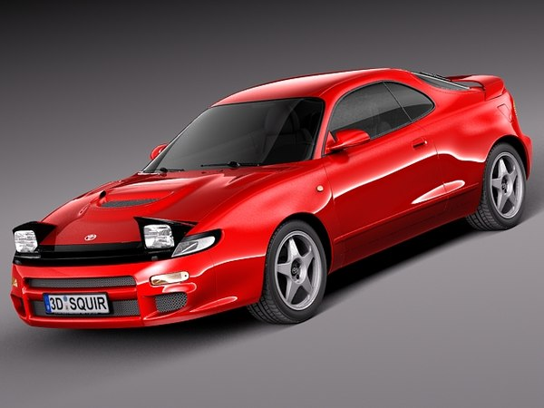 toyota celica coupe st185 3ds