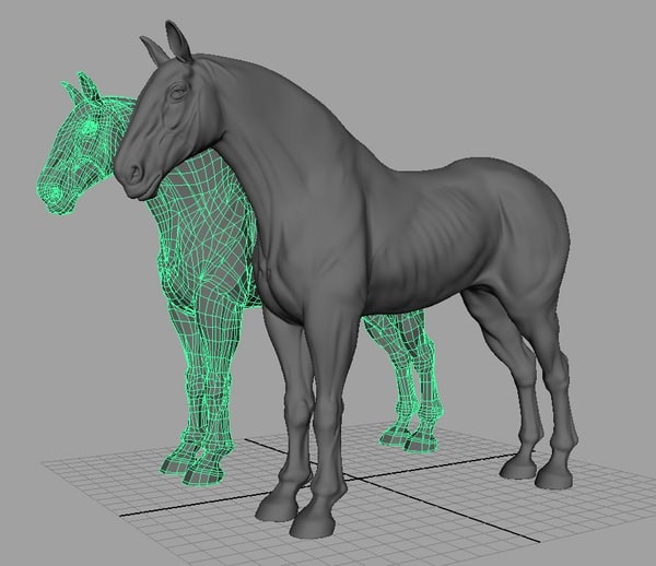 clydesdale 3d model