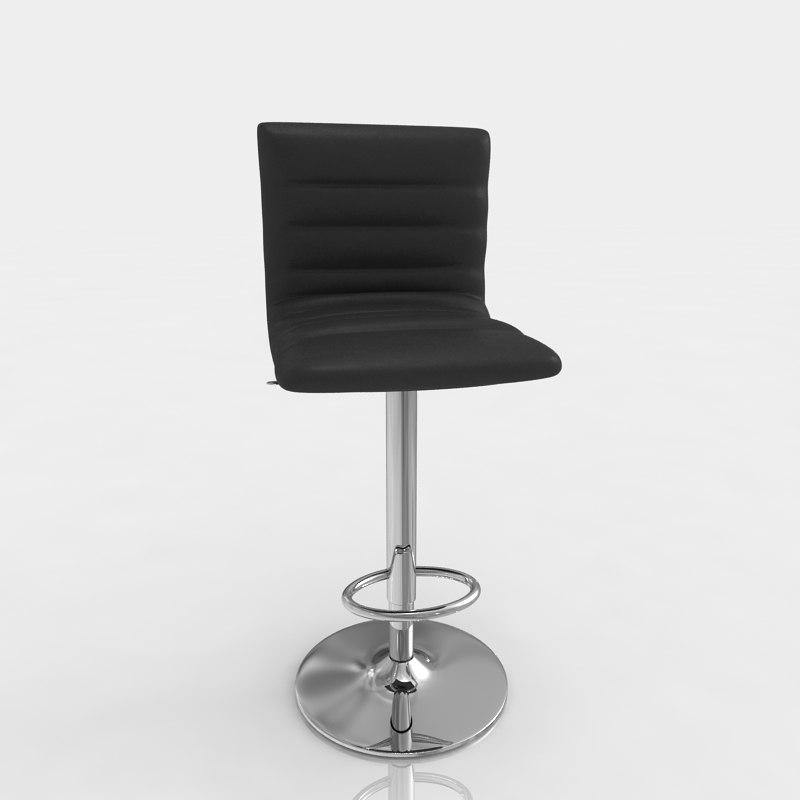 3d model bar stool 1