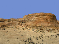 canyon landscape dry max
