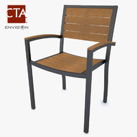chair stacked 3d max