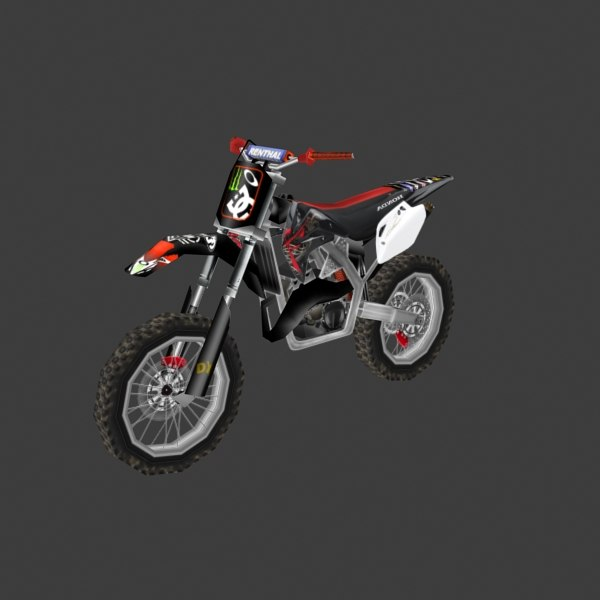3d Dirt Bike