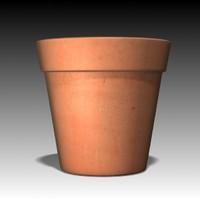 3d model flower pot
