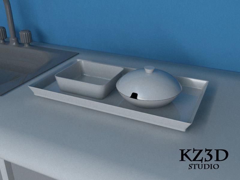 3d serving bowl