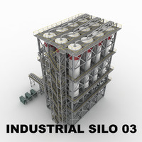 Industrial silo 03