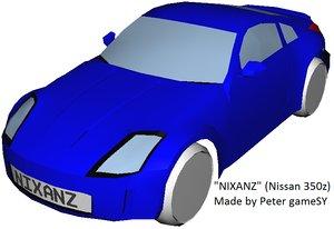 nissan 350 350z 3ds free