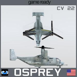 3d cv22 osprey usmc