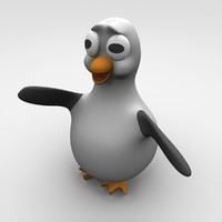 penguin cute 3d