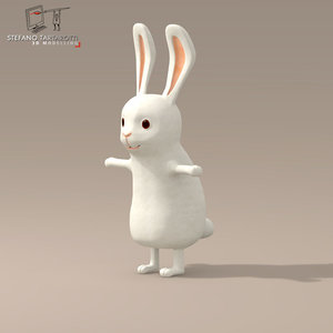 rabbit character 3d 3ds