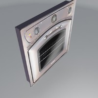 oven old antique ardo 3d model