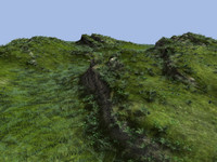 tileable cliff landscape 3d max