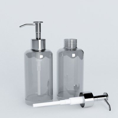 nice soap bottle 3d dxf