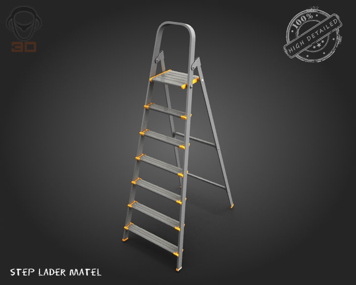 step lader matel max