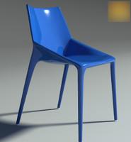 3d chair outline 2011 model