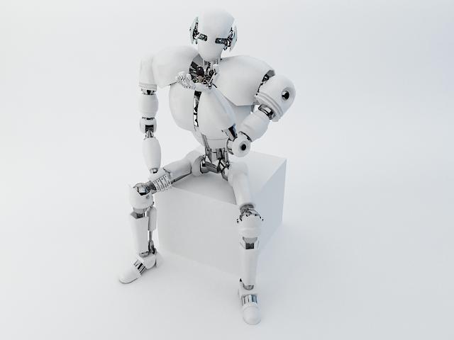 robot z300 improved version 3d model