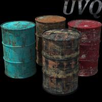 maya oil barrels