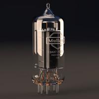 3d 3ds vacuum 12ax7 tube