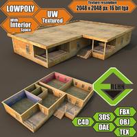 house interior building 3d 3ds