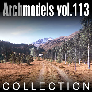 3d c4d archmodels vol 113 trees